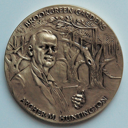 Archer Huntington, Medal, Brookgreen Gardens
